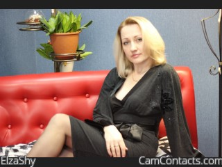 Webcam model ElzaShy from CamContacts