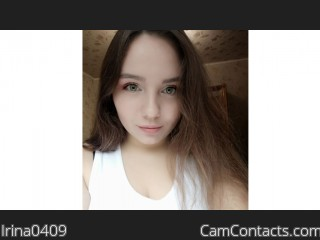 Webcam model Irina0409 from CamContacts