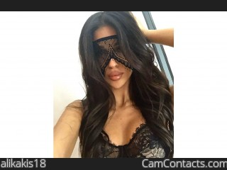 Webcam model alikakis18 from CamContacts
