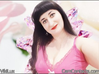 Webcam model VikiLux from CamContacts