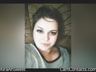 Webcam model KiraAhSweet from CamContacts