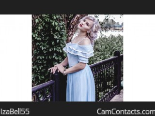 Webcam model IzaBell55 from CamContacts