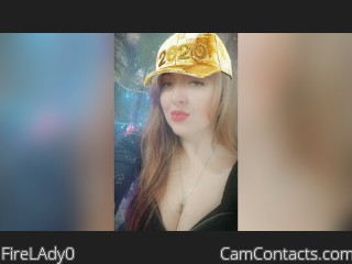 Webcam model FireLAdy0 from CamContacts