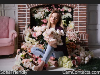 Webcam model SofiaFriendly from CamContacts