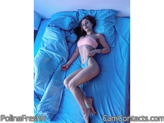 Webcam model PolinaFreshh from CamContacts