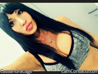 Webcam model CassandraCage from CamContacts