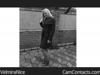 Webcam model VelmiraNice from CamContacts