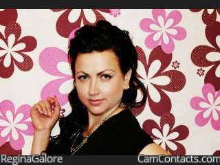 Webcam model ReginaGalore from CamContacts