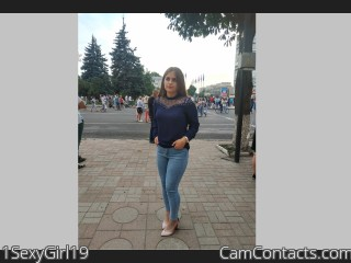 Webcam model 1SexyGirl19 from CamContacts