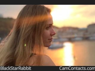 Webcam model BlackStarRabbit from CamContacts