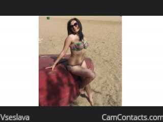 Webcam model Vseslava from CamContacts
