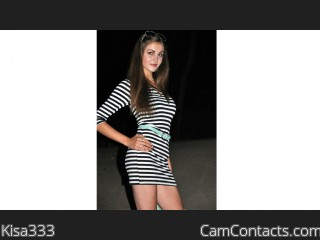 Webcam model Kisa333 from CamContacts