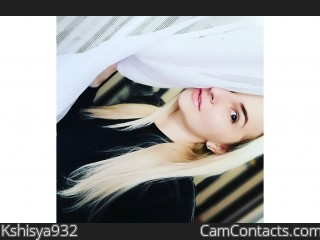 Webcam model Kshisya932 from CamContacts