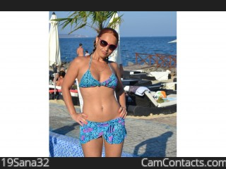 Webcam model 19Sana32 from CamContacts
