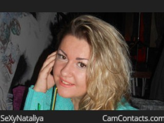 Webcam model SeXyNataliya from CamContacts