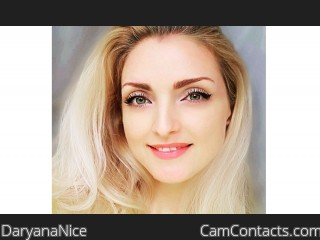 Webcam model DaryanaNice from CamContacts