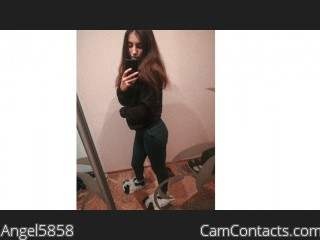 Webcam model Angel5858 from CamContacts