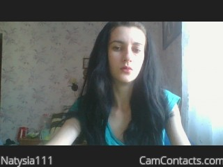 Webcam model Natysia111 from CamContacts