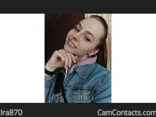 Webcam model Ira870 from CamContacts