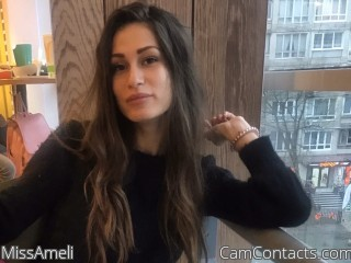 Webcam model MissAmeli from CamContacts