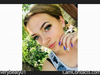 Webcam model verybeaty01 from CamContacts