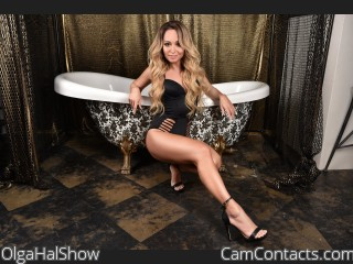 Webcam model OlgaHalShow from CamContacts