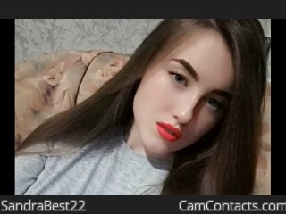 Webcam model SandraBest22 from CamContacts