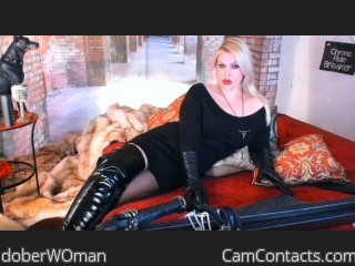 Webcam model doberWOman from CamContacts