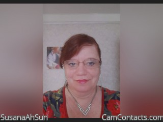 Webcam model SusanaAhSun from CamContacts