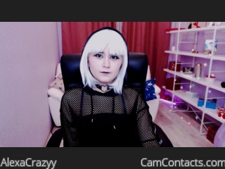 Webcam model AlexaCrazyy from CamContacts