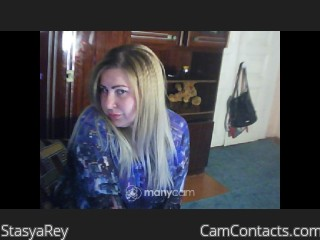 Webcam model StasyaRey from CamContacts