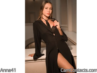 Webcam model Anna41 from CamContacts