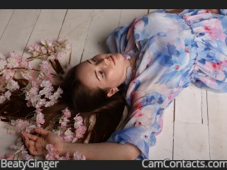 Webcam model BeatyGinger from CamContacts