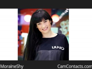 Webcam model MoraineShy from CamContacts