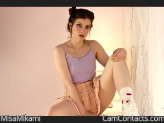 Webcam model MisaMikami from CamContacts