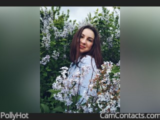 Webcam model PollyHot from CamContacts