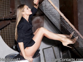 Webcam model HotAnna41 from CamContacts