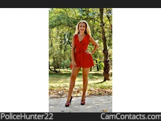 Webcam model PoliceHunter22 from CamContacts