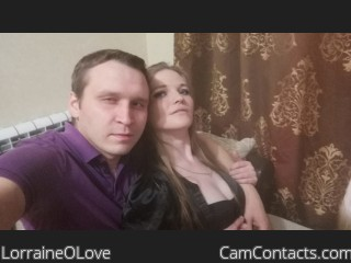 Webcam model LorraineOLove from CamContacts