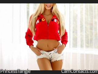 Webcam model PrincessTangle from CamContacts