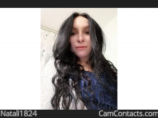 Webcam model Natali1824 from CamContacts