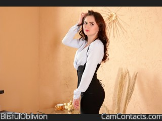 Webcam model BlisfulOblivion from CamContacts