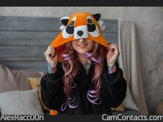 Webcam model AlexRacc00n from CamContacts