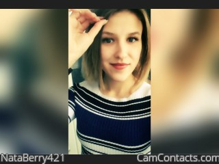 Webcam model NataBerry421 from CamContacts