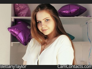 Webcam model BettanyTaylor from CamContacts
