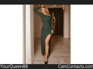 Webcam model YourQueen88 from CamContacts