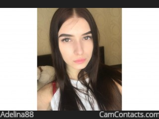 Webcam model Adelina88 from CamContacts