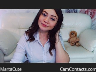 Webcam model MartaCute from CamContacts