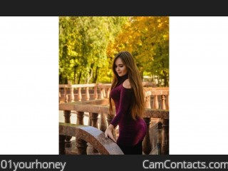 Webcam model 01yourhoney from CamContacts