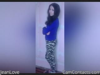 Webcam model JeanLove from CamContacts